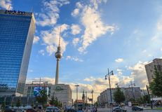Alexanderplatz - Berlin - Germany Royalty Free Stock Photography