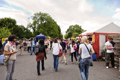 Sunday at Mauer Park Flea Market Royalty Free Stock Photography