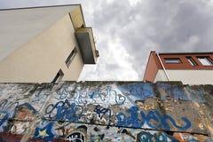 Berlin Wall Bernauer Strasse Royalty Free Stock Photos