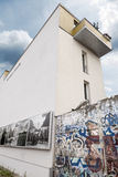 Berlin Wall Bernauer Strasse Stock Image