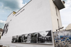 Berlin Wall Bernauer Strasse Stock Photography