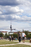 Sunday at Mauerpark Berlin Germany Stock Photo