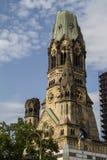 Berlin, Germany. Kaiser Wilhelm Memorial Church in Berlin Royalty Free Stock Photography