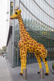 Berlin, Germany: Legoland Store Giraffe Stock Photography