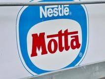 Nestle Motta emblem stock photography