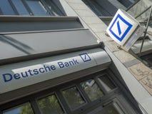 Deutsche Bank branch royalty free stock images