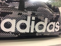 Adidas sport bag Stock Photo