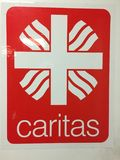 German Caritas Association emblem Stock Image