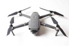 Berlin, Germany - november 21, 2018: New drone DJI Mavic 2 pro isolated on white background.  royalty free stock photography