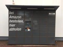 Amazon Locker location royalty free stock photo
