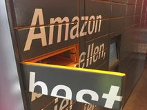 Amazon Locker location stock photos