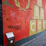 BERLIN, GERMANY- October 15, 2014: Berlin Wall was a barrier con Stock Image
