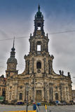 BERLIN, GERMANY - OCTOBER 02, 2016: Histoirical center of the Dresden Old Town. Dresden has a long history as the Stock Photos