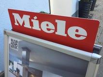 Miele logo royalty free stock photos
