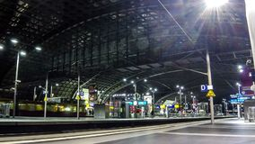 Berlin Hauptbahnhof - central railway station in Berlin, Germany stock video