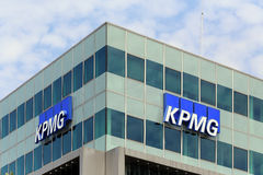 Berlin, Germany. The office of KPMG company Royalty Free Stock Images
