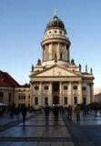 berlin germany 10 oktober 2009 - fransk domkyrka fotografering för bildbyråer