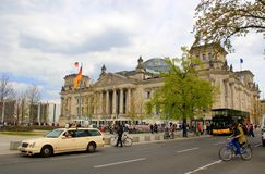Berlin, Germany, Parliament, Bundestag Royalty Free Stock Photos