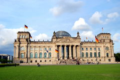 Berlin, Germany: The Reichstag Royalty Free Stock Photo