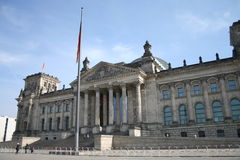 berlin germany reichstag Royaltyfri Bild