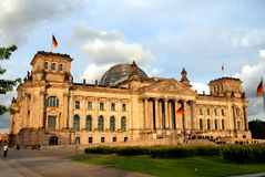 Berlin, Germany: The Reichstag Parliament Stock Photo
