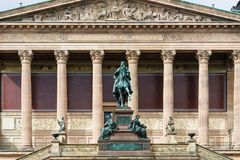 Statue of Frederick William IV of Prussia Stock Photo