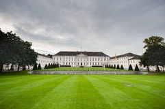 BERLIN, GERMANY - SEPTEMBER 25, 2012: Official President House, Residence in Berlin, Germany. Bellevue Palace, Schloss Bellevue, l. Official President House stock images