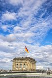 Roof of Reichstag Bundestag building in Berlin, Germany Royalty Free Stock Photography