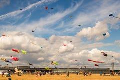 BERLIN, GERMANY - SEPTEMBER 22, 2018:STADT UND LAND 7. Kite fest royalty free stock photo