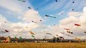 BERLIN, GERMANY - SEPTEMBER 22, 2018:STADT UND LAND 7. Kite fest royalty free stock image