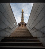 BERLIN, GERMANY - SEPTEMBER 25, 2012: Victory Column in Berlin, Germany. Siegessaule Royalty Free Stock Image
