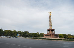 BERLIN, GERMANY - SEPTEMBER 25, 2012: Victory Column in Berlin, Germany. Siegessaule Stock Image