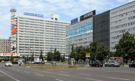 Berlin, Germany. The square near the Berliner Zeitung newspaper office Stock Photo