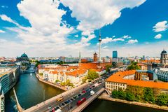 Berlin, Germany, during summer royalty free stock photos