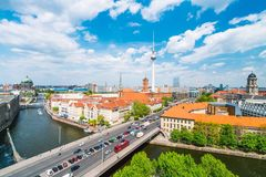 Berlin, Germany, during summer Royalty Free Stock Images