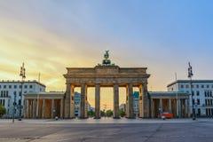 Berlin Germany, Brandenburg Gate stock images