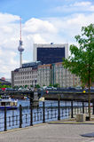 Berlin, Germany, The Television Tower Stock Images