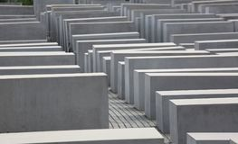 Berlin, Germany 16th August 2017 Holocaust Memorial also called Monument to the Murdered Jews Stock Photos