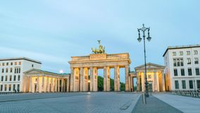 Berlin Germany Time Lapse almacen de video