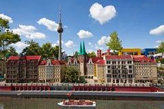 Berlin gjorde från kvarter Arkivbild