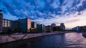 Berlin government district Royalty Free Stock Images