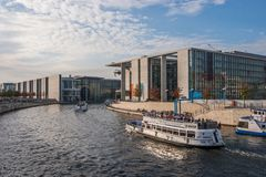 Berlin government district Royalty Free Stock Photography