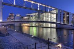 Berlin Government Quarter Immagine Stock Libera da Diritti