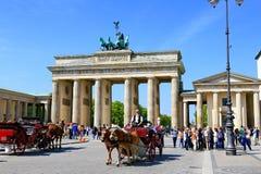 Berlin gränsmärken Royaltyfria Bilder