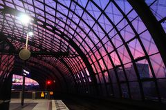 berlin hauptbahnhof royaltyfri foto