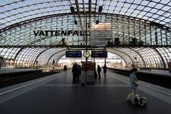 Berlin Hauptbahnhof Royalty Free Stock Photography