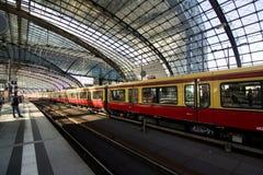 Berlin Hauptbahnhof Stock Photos