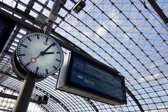 Berlin Hauptbahnhof Photo stock