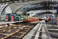 Berlin Hauptbahnhof Photographie stock libre de droits