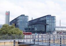 berlin hauptbahnhof Στοκ φωτογραφία με δικαίωμα ελεύθερης χρήσης